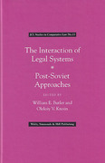 Cover of The Interaction of Legal Systems: Post-Soviet Approach
