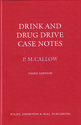 Cover of Drink and Drug Drive Case Notes