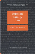 Cover of Russian Family Law (eBook)