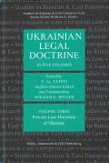 Cover of Ukrainian Legal Doctrine: Volume 3: Private Law Doctrine of Ukraine