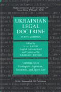 Cover of Ukrainian Legal Doctrine: Volume 4: Ecological, Agrarian, Economic, and Space Law