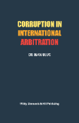Cover of Corruption in International Arbitration