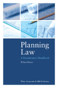 Cover of Planning Law: A Practitioner's Handbook