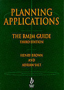 Cover of Planning Applications: The RMJM Guide