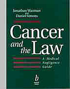 Cover of Cancer and the Law