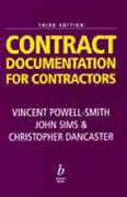 Cover of Contract: Documentation for Contractors