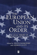 Cover of The European Union and Its Order