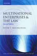 Cover of Multinational Enterprises and the Law