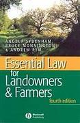 Cover of Essential Law for Landowners and Farmers