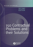 Cover of 150 Contractual Problems and their Solutions