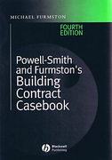 Cover of Powell-Smith and Furmston's Building Contract Casebook