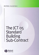 Cover of The JCT 05 Standard Building Sub-Contracts