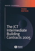 Cover of The JCT Intermediate Building Contracts 2005