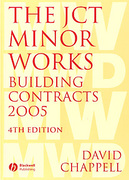 Cover of The JCT Minor Works Building Contracts 2005