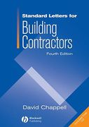 Cover of Standard Letters for Building Contractors