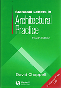 Cover of Standard Letters in Architectural Practice