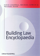 Cover of Building Law Encyclopaedia