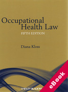 Cover of Occupational Health Law (eBook)