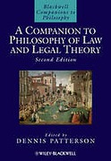 Cover of A Companion to Philosophy of Law and Legal Theory