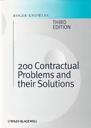 Cover of 200 Contractual Problems and their Solutions