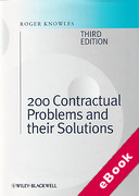 Cover of 200 Contractual Problems and their Solutions (eBook)