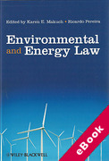 Cover of Environmental and Energy Law (eBook)