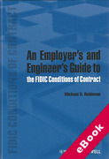 Cover of An Employer's and Engineer's Guide to the FIDIC Conditions of Contract (eBook)