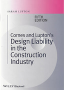 Cover of Cornes and Lupton's Design Liability in the Construction Industry