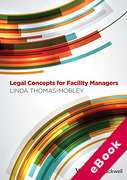 Cover of Legal Concepts for Facility Managers (eBook)