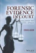 Cover of Forensic Evidence in Court