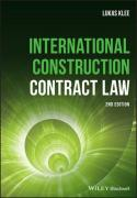 Cover of International Construction Contract Law
