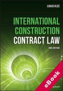 Cover of International Construction Contract Law (eBook)