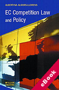 Cover of EC Competition Law and Policy (eBook)