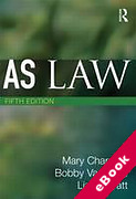 Cover of AS Law (eBook)