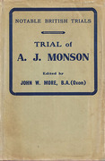 Cover of Trial of A.J. Monson