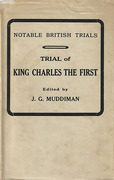 Cover of Trial of King Charles the First