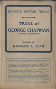 Cover of Trial of George Chapman (Severin Klosowski)