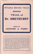 Cover of Trial of Dr Smethurst (with Jacket)
