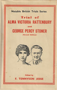 Cover of Trial of Alma Victoria Rattenbury and George Percy Stoner