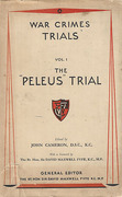 Cover of The Peleus Trial: Hanz Eck, Augustus Hoffman, Walter Weisspfennig; Hans Richard Lenz and Wolfgang Schwender