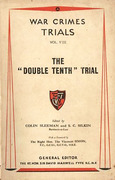 Cover of Trial of Sumida Haruzo and Twent Others (The 'Double Tenth' Trial)