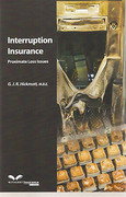Cover of Interruption Insurance: Proximate Loss Issues