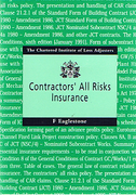 Cover of Contractors' All Risks Insurance