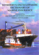 Cover of Witherby's Encyclopaedic Dictionary of Marine Insurance