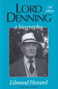 Cover of Lord Denning: A Biography