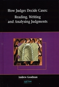 Cover of How Judges Decide Cases: Reading, Writing and Analysing Judgements