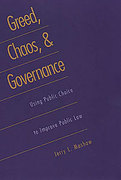 Cover of Greed, Chaos and Governance