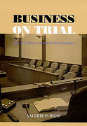 Cover of Business on Trial